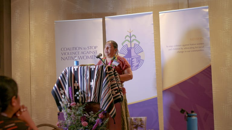 Navajo Nation Delegate Crotty encourages tribal leadership to take active lead in addressing sexual assault and domestic violence