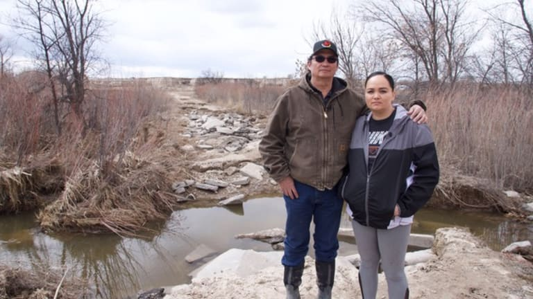 Still reeling from massive flooding and without federal assistance, the Pine Ridge Reservation braces for another major storm