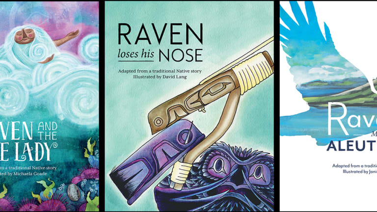 All Sealaska Heritage Institute 2018 Baby Raven Reads books chosen for annual best-of-the-year list