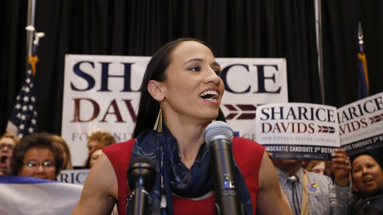 Rep. Sharice Davids reflects on her first 100 days in Congress