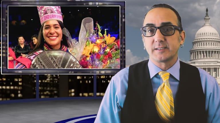 Indian Country Today video news report for May 2, 2019, with Vincent Schilling
