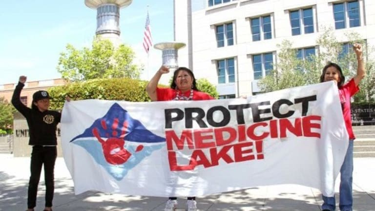 Indigenous nations rally to protect Medicine Lake from extractive industrial geothermal desecration — Federal Appeals Court hearing May 14 in Seattle