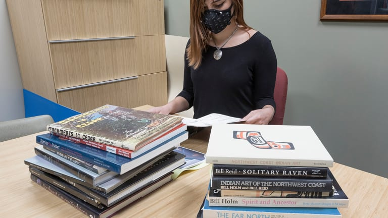 Sealaska Heritage's library grows with donation of Northwest Coast art books