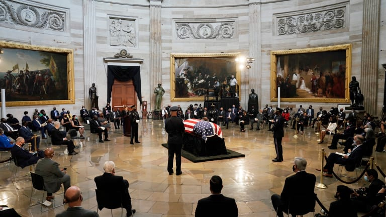 Civil rights icon Lewis to lie in repose at Georgia Capitol