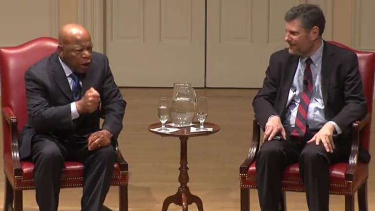 The time Congressman John Lewis told me to get into 'Good Trouble'