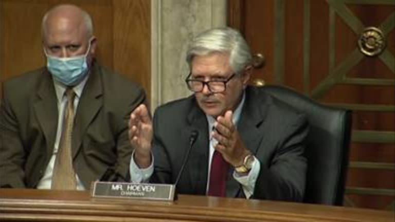 Senator Hoeven holds oversight hearing on safely reopening Bureau of Indian Education schools