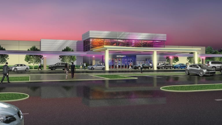 Work begins on casino that's pitting tribe against tribe