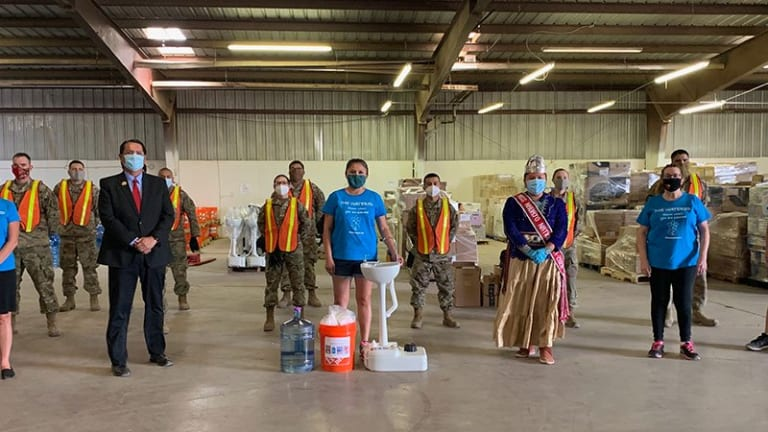 Group helps fill gaps in Navajo Nation water access