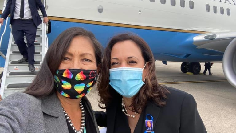 Native people show mixed reactions to Kamala Harris