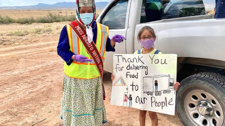 Miss Navajo Nation: 'Glimmer of hope' during pandemic