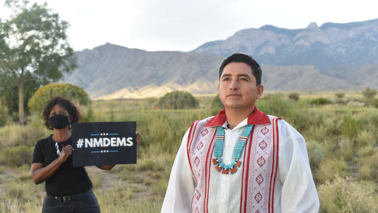 Native leaders featured in DNC roll call