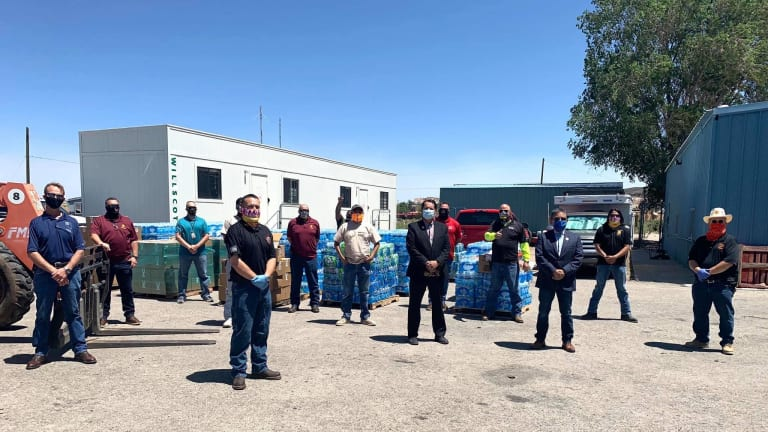 Navajo Nation president approves $475 million in CARES Act funding to provide immediate COVID-19 relief funding for water projects, power line projects, and more