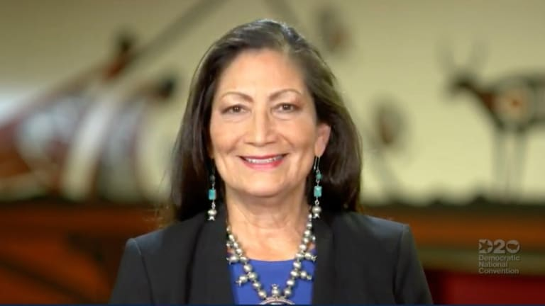 Deb Haaland rings Indigeneity in primetime DNC speech