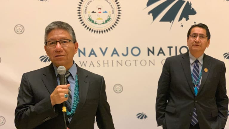 RNC features Navajo leader, Columbus Day resolution