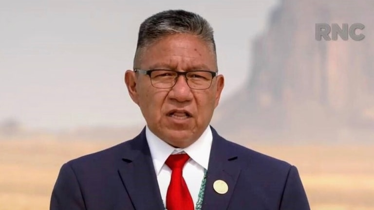 Navajo VP praises Donald Trump on funding, public safety