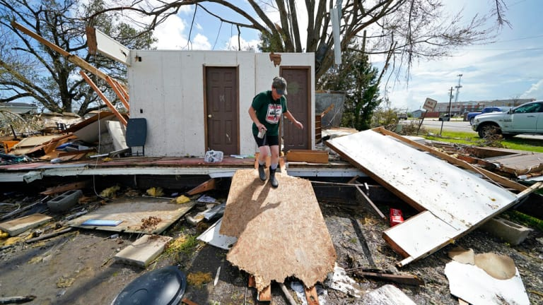 Home smashed: For one family, Hurricane Laura the 3rd strike