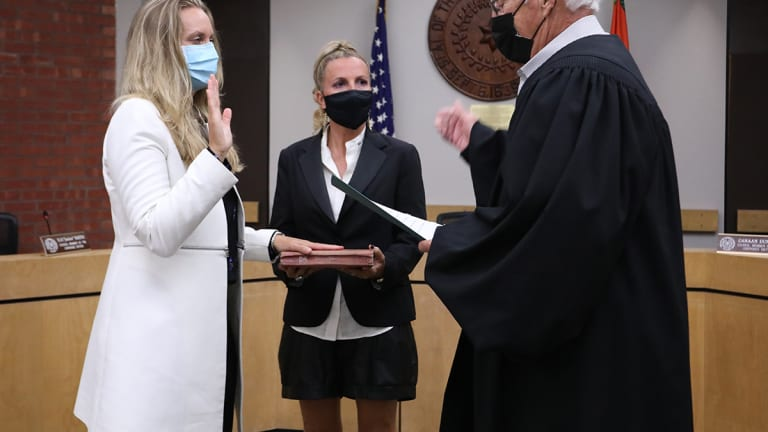 Shawna Baker sworn in as Cherokee Nation Supreme Court Justice