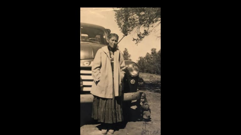 Family meant everything to Navajo woman