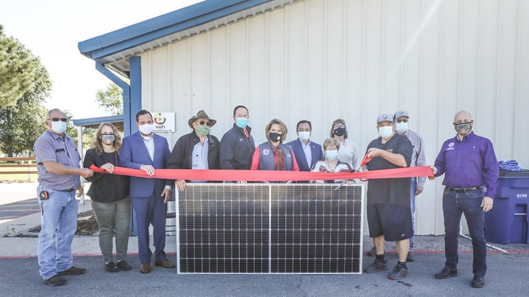 Cherokee Nation gives eco-friendly boost to community centers
