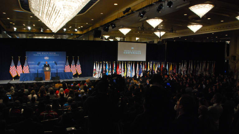 White House plans tribal nations conference this year