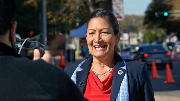 Support swells for Deb Haaland Cabinet post