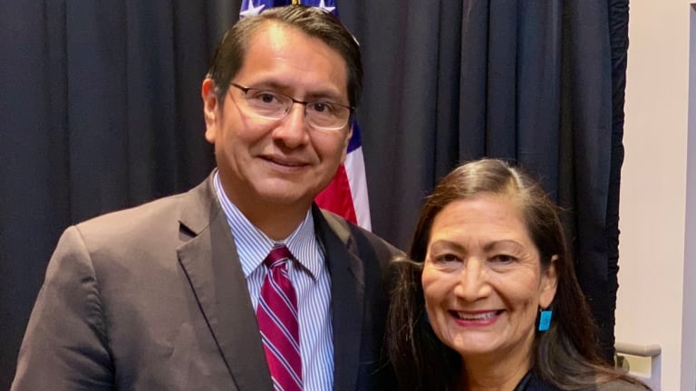 Deb Haaland for Secretary of the Interior