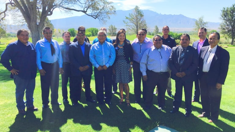 All Pueblo Council of Governors support Rep. Deb Haaland for Secretary of the Interior