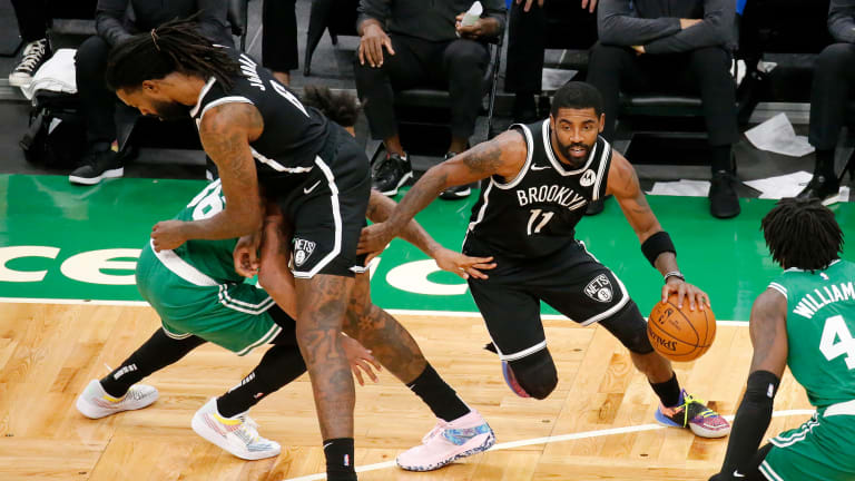 Kyrie Irving cleanses NBA court