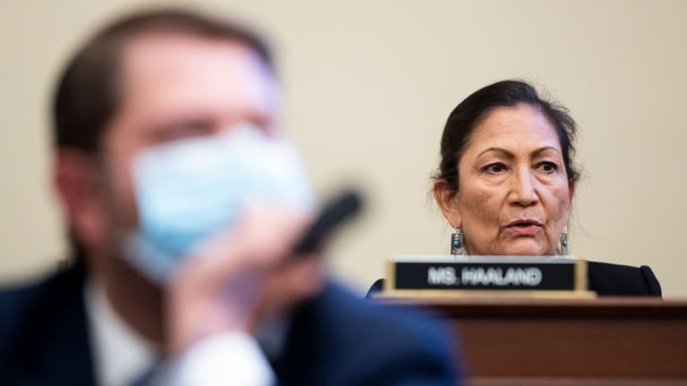 Deb Haaland faces momentous questions at Interior