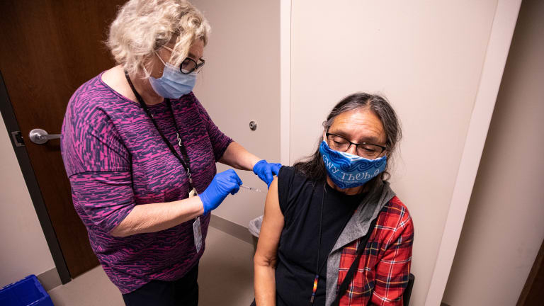 Vaccines reach hard-hit Native communities