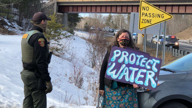 Clash at historic Minnesota pipeline spill leads to charges