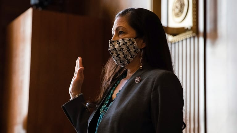 Deb Haaland swearing in details announced
