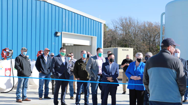 Cherokee Nation joins Sequoyah County Water Association to celebrate completion of water treatment plant in Sequoyah County