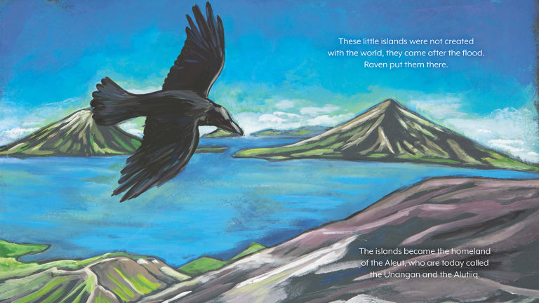 Baby Raven Reads book wins American Indian Library Association Award