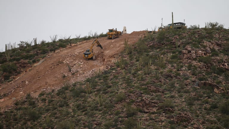 Consultation? No. Blasting a monument on route to tribal lands