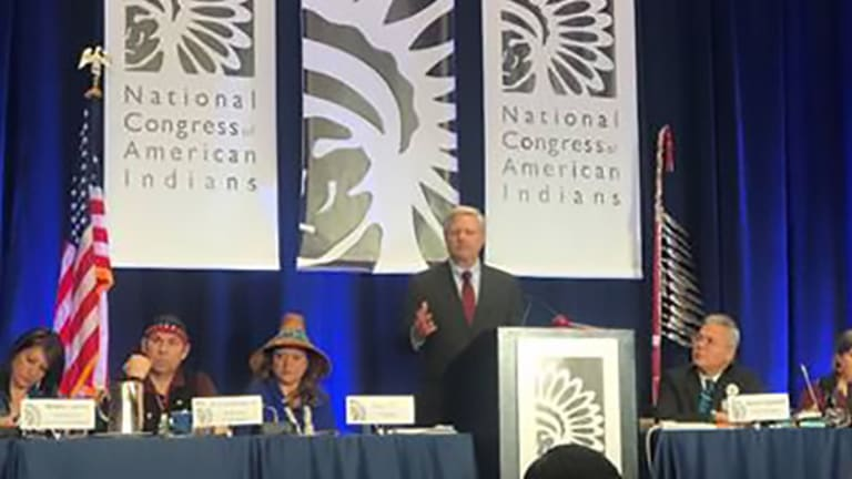 Hoeven Addresses the 2020 Executive Council Winter Session of the National Congress of American Indians