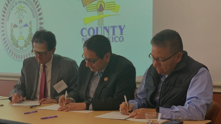 Navajo Nation enters into Memorandum of Understanding with San Juan County to assess feasibility of a new railroad system