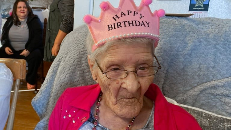 106 years young: Dorothy Locklear Clark is the oldest living Lumbee
