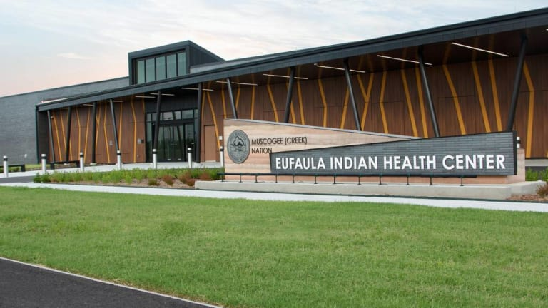 Eufaula Indian Health Clinic offered preventative dental services to students