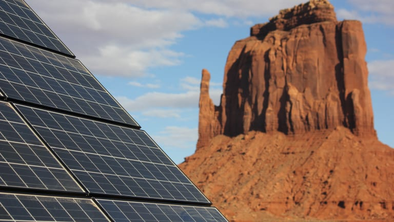 Clean energy produced on Navajo land could help power Los Angeles