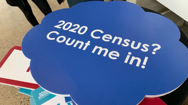 That other story: It's Census time