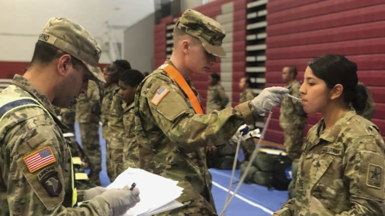 Military recruiting struggles as enlistment stations close