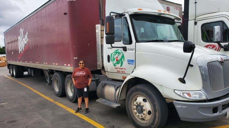 New life of a trucker: Less traffic. More hours. And so much kindness