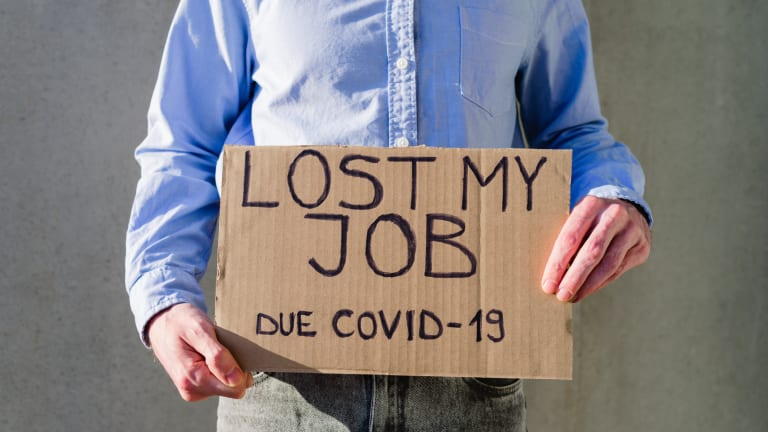As the virus spikes ... job losses on the rise