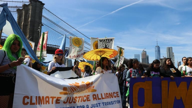 Climate Justice Alliance joins organizations across the country to demand a #PeoplesBailout on #MayDay