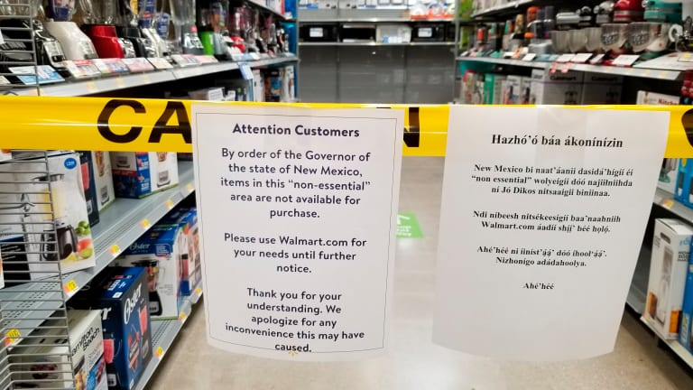 New Mexico takes more drastic measures against virus hotspot