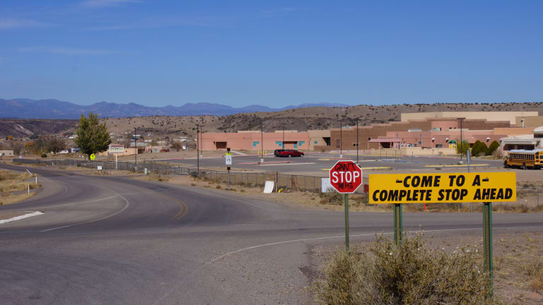 New Mexico pueblo fights a high infection rate