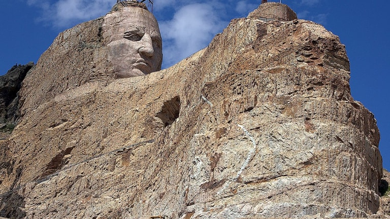 Crazy Horse Memorial's full tribal flags collection is now on display