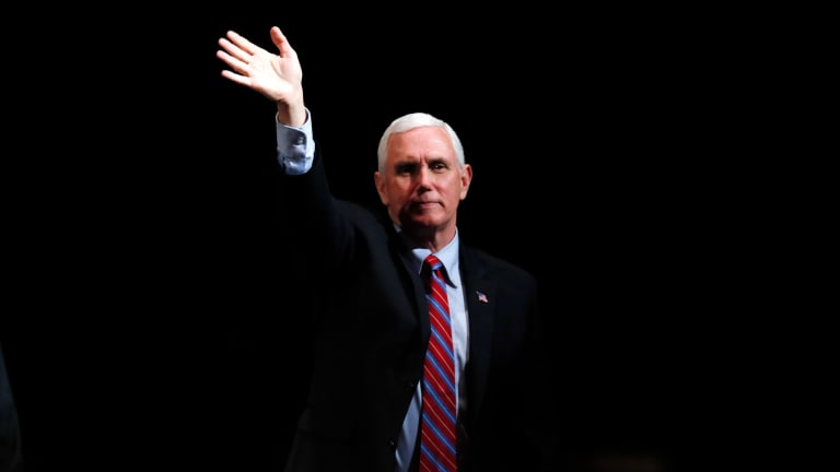 Mike Pence reemerges, lays groundwork for 2024
