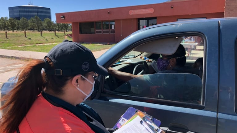 Diné College distributing COVID-19 relief checks to students